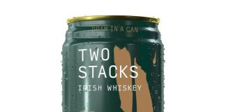 Two Stacks Irish Whiskey Dram in a Can