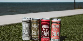 Graham + Fisk's Wine-In-A-Can Rose with Bubbles