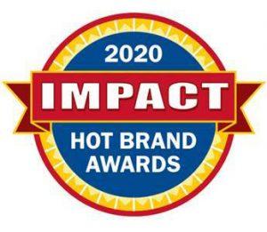 impact hot brand award