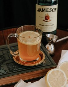 st. patrick's day hot toddy