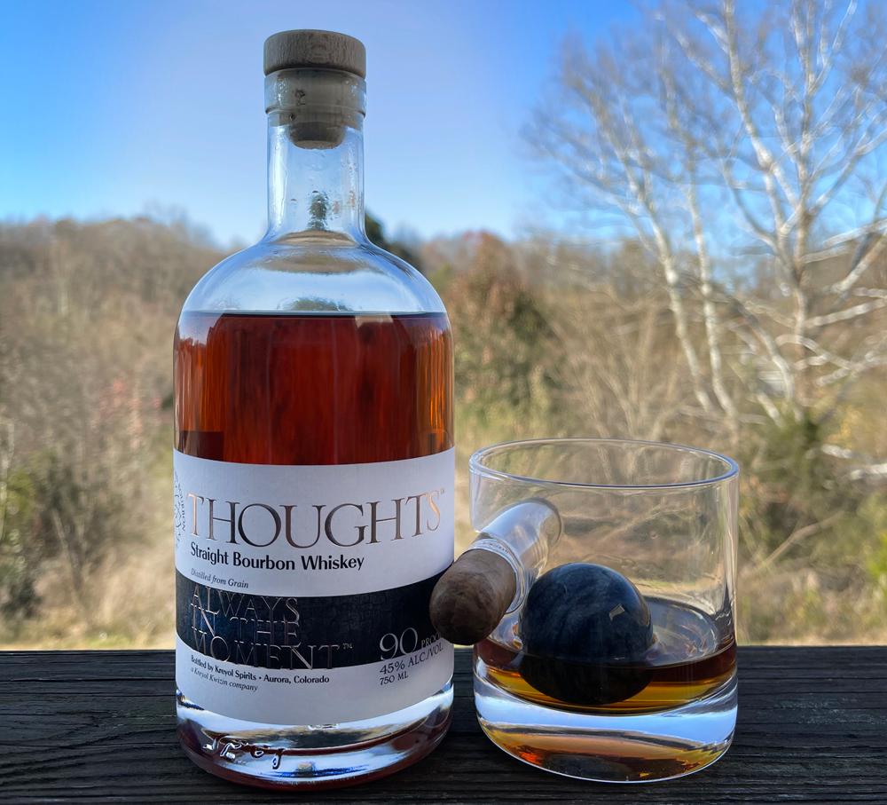 Kreyol Spirits THOUGHTS Straight Bourbon Whiskey