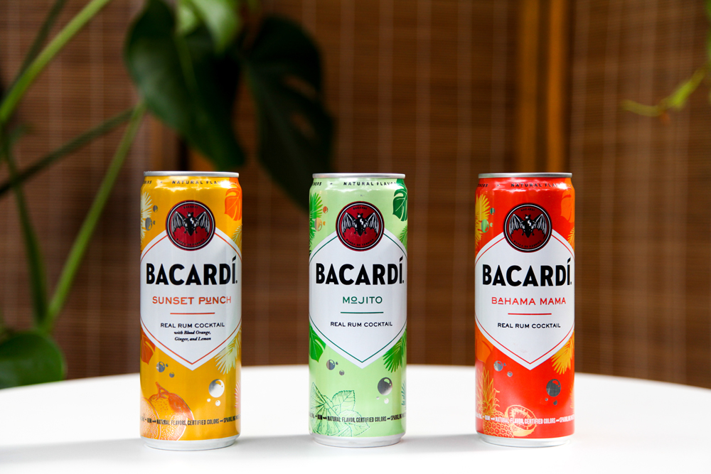 BACARDÍ Real Rum Canned Cocktails