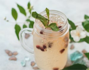 peach cranberry cooler memorial day recipe