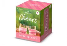 Hallmark wines CHEERS Rosé Seltzer
