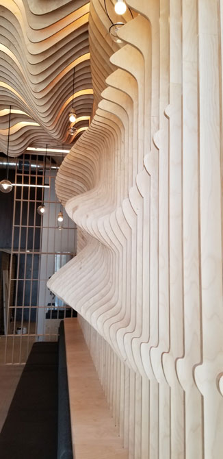 bar design parametric walls