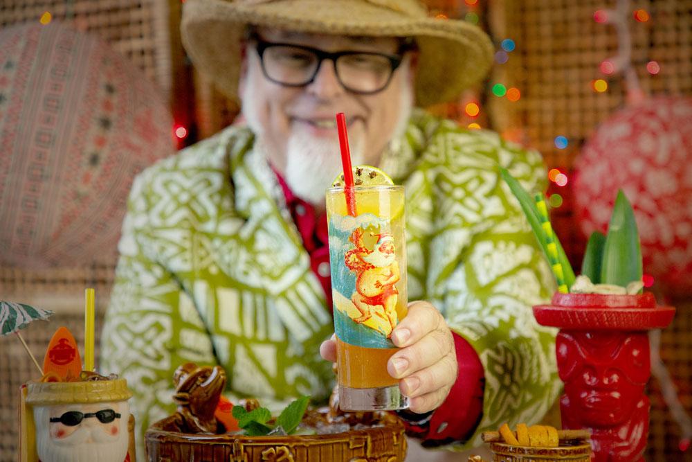 Sippin' Santa pop-up bar
