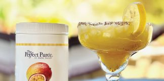 The Perfect Purée of Napa Valley Mango Passion Fruit