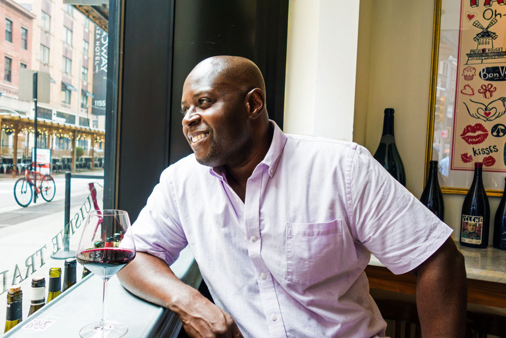 Kwaw Amos gotham winery