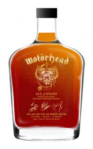 Motörhead bourbon ace of spades bourbon