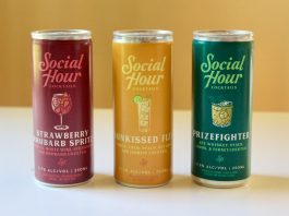 social hour canned cocktails