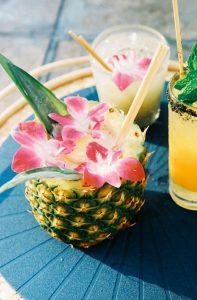 umbrella club pineapple