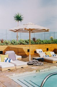umbrella club pool hotel sixty