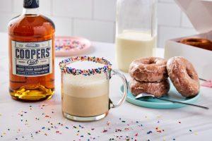 donut coffee cocktail