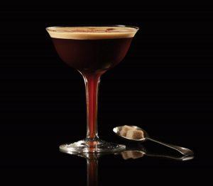 brockmans mocha martini