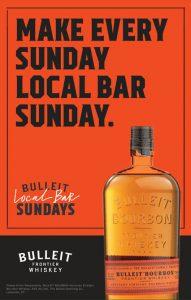 Bulleit Local Bar Sundays