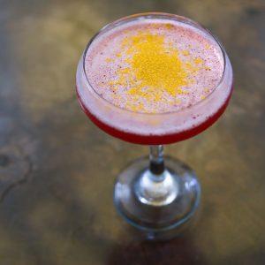 Golden Geisha vodka cocktail